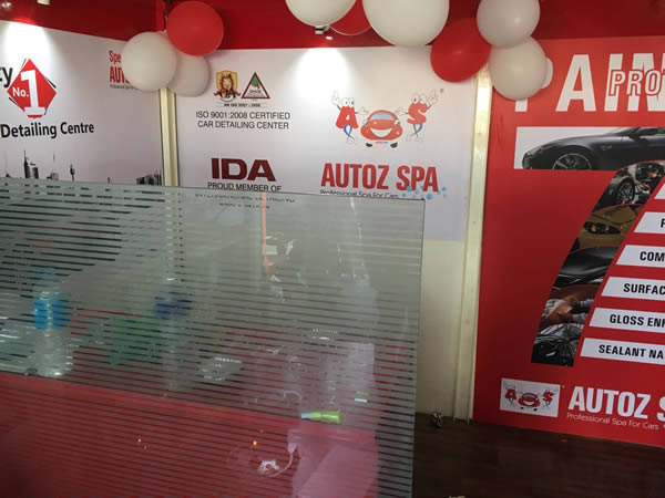 Auto Spa Reception