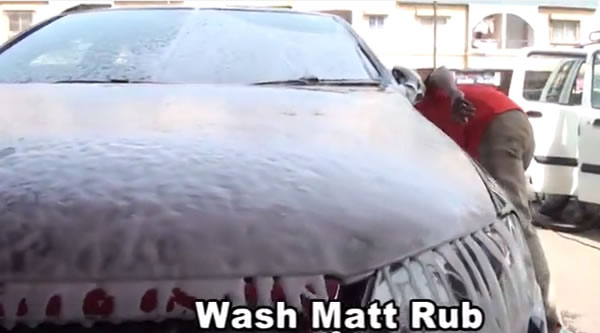 Wash Matt Rub